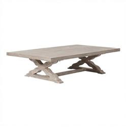 Conisbrough Coffee table, L170 x W101 x H42cm, grey wood