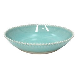 Pearl Pasta/serving bowl, D34 x H7cm, aqua