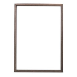 Indu Wooden frame, 50 x 35cm, dark brown