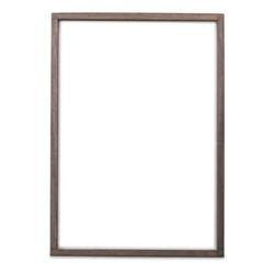 Indu Wooden frame, 50 x 35cm, dark brown
