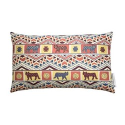 Tiger-Tiger Cushion, 42 x 70cm, pink multi