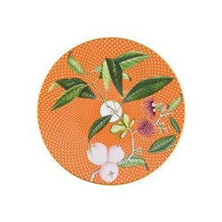 Tresor Fleuri Dessert plate, 22cm, orange