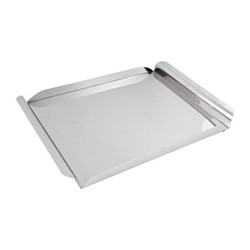 Tray, stainless steel