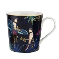 Tahiti - Cockatoo Mug, navy