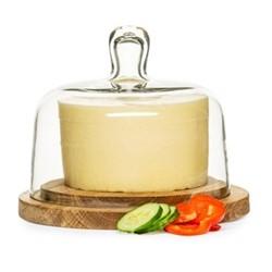 Cheesedome, Dia18cm, oak