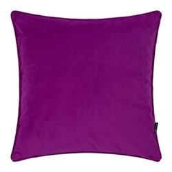Velvet cushion, W45 x L45cm, grape