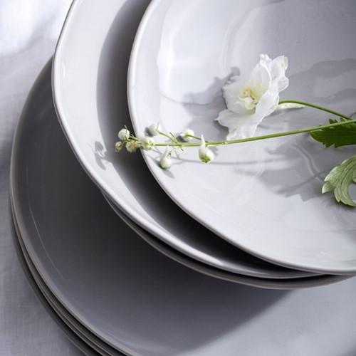 Portobello 12 piece dinner set, grey