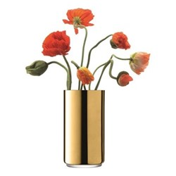 Karat Vase, H26 x D14cm, gold