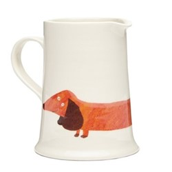 Dachshund Very useful jug, H12cm