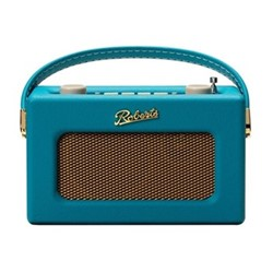 Revival Uno DAB/DAB+/FM digital radio with alarm, H14 x W21 x D9cm, teal blue