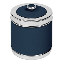 Ocean Insulated ice bucket with lid, D16 x H19cm, petrol blue