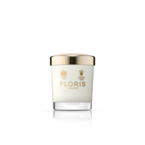 Grapefruit & rosemary scented candle 175g, H12 x W8 x L8cm