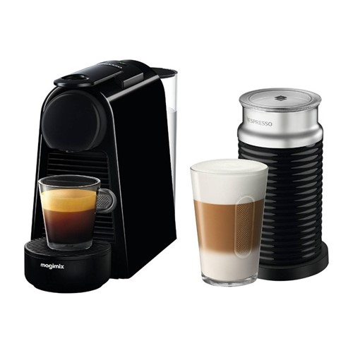 Essenza Mini with Aeroccino - 11377 Coffee machine by Magimix, black