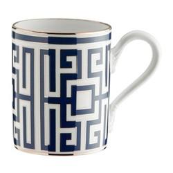 Labirinto Mug, 40cl, zaffiro