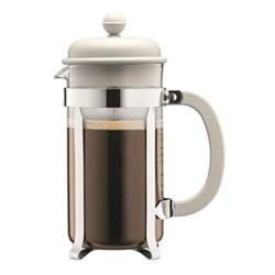 Caffettiera 8 cup coffee maker, 1 litre, off white