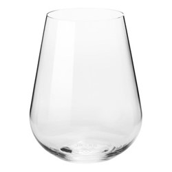 Jancis Robinson Set of 6 water glasses, D9 x H11.5cm, clear