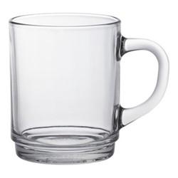 Versailles Set of 6 mugs, 260ml, clear