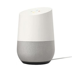 Google Home smart speaker, white