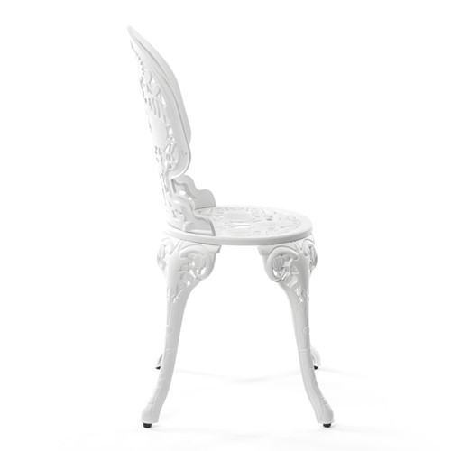 Industry Dining chair, H92 x L40cm, White