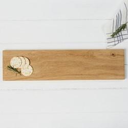 Large serving platter, L60 x W15 x H1.8cm, oak