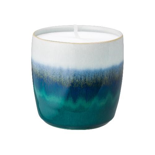 Denby Home Fragrance Statements Candle Pot, Green