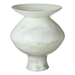 Papavera Large vase, Dia39 x H44cm, volcanic white
