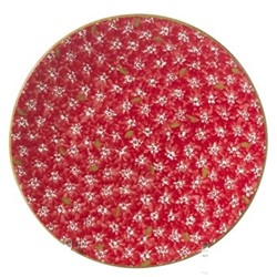 Lawn Everyday plate, D23.5cm, red
