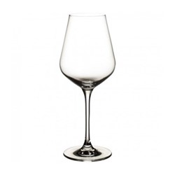 La Divina Set of 4 white wine glasses, 380ml, crystal glass