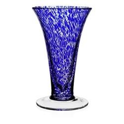 Studio - Vanessa Vase, 23cm, sicilian blue