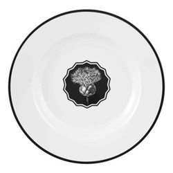 Herbariae Soup plate, 23cm, white