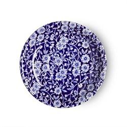 Calico Tea saucer, blue