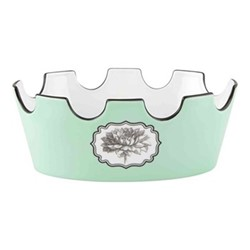 Herbariae Oval fruit bowl, 21 x 13.5 x 8cm, green