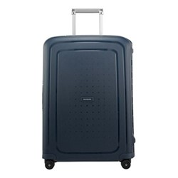 S'Cure Spinner suitcase, 69 x 49 x 29cm, navy blue stripes