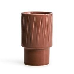 Coffee & More Latte mug, 400ml, terracotta