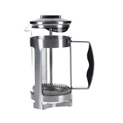 Trieste Cafetiere, 3 cup - 350ml, metallic gray