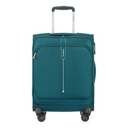 Popsoda Spinner suitcase, 55 x 40 x 20cm, teal