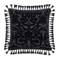 Anaconda Cushion, 60 x 60cm, noir