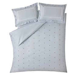 Bees Super king size bedding set, 260 x 220cm, duckegg