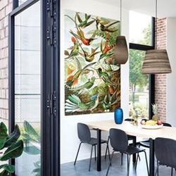 Art - Hummingbirds Wall decoration, 60 x 100cm