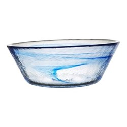 Mine Bowl, H25cm, blue