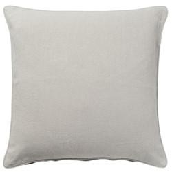 Linen cushion cover, 51cm, eau de nil