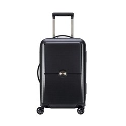 Turenne 4-Double wheel cabin trolley case, 55cm, black
