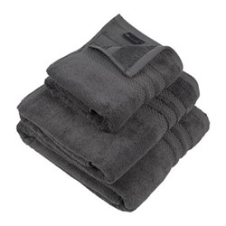 Egyptian Cotton Hand towel, 50 x 90cm, charcoal