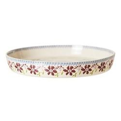 Clematis Large quiche dish, D28 x H4cm