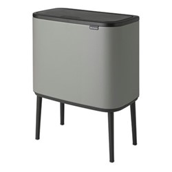 Bo Touch bin, 36 litre, mineral concrete grey
