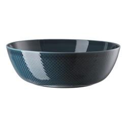 Junto Serving bowl, 33cm, ocean blue