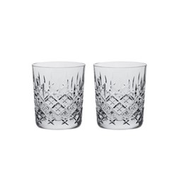 London Pair of whisky tumblers