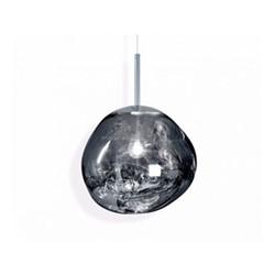 Melt Mini Mini hanging pendant, H24 x L27 x W27cm, chrome