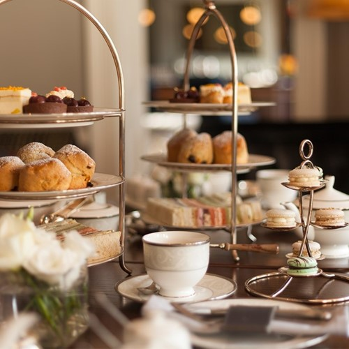 Beer paired afternoon tea for two at Mandarin Oriental Hyde Park