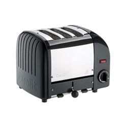 Classic Vario 3 slot toaster, black